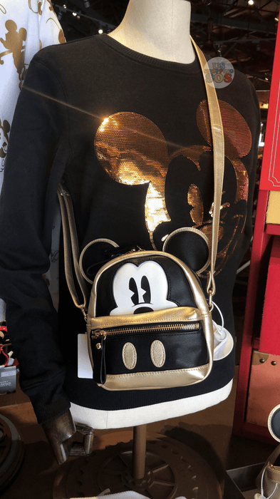 SHDL - Golden Mickey Mouse Ear Crossbody Bag