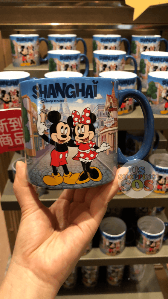 SHDL - I Mickey SH Collection - Mug x Mickey & Minnie Mouse