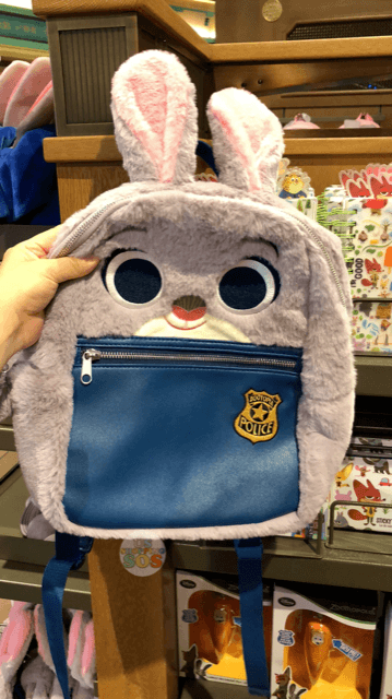 SHDL - Fluffy Backpack x Judy