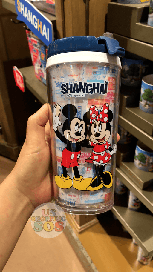 SHDL - I Mickey SH Collection - Tumbler x Mickey & Minnie Mouse