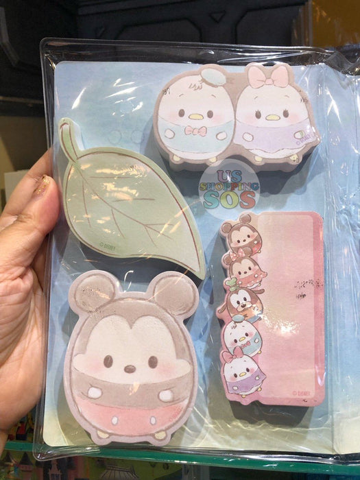 HKDL - Sticky Notepads & Gel Pens & Stickers Booklet x Ufufy