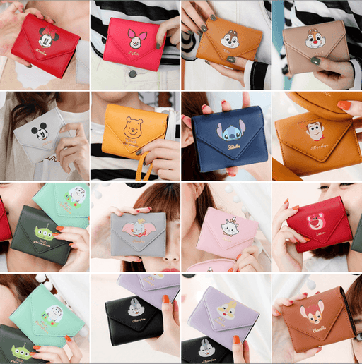 Taiwan Exclusive -  Disney Character Small Storage Purse Wallet