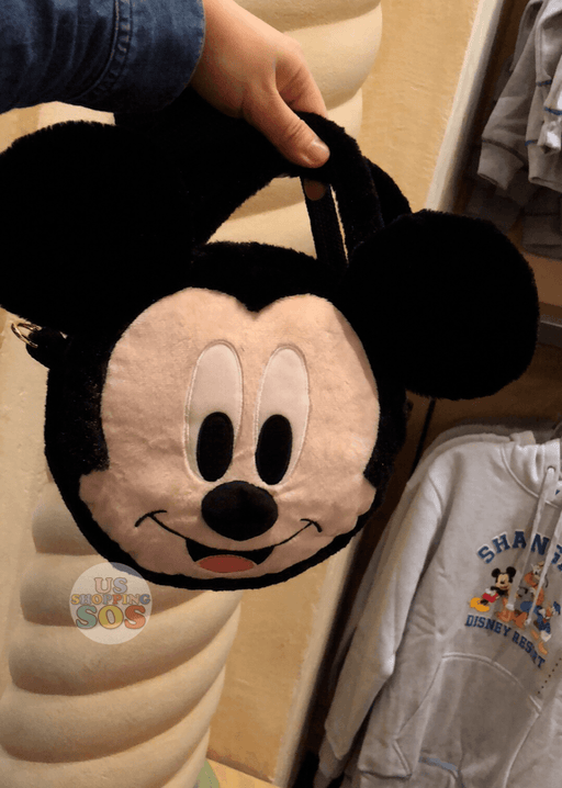 SHDL - Mickey Mouse Face Icon 2-Way Bag