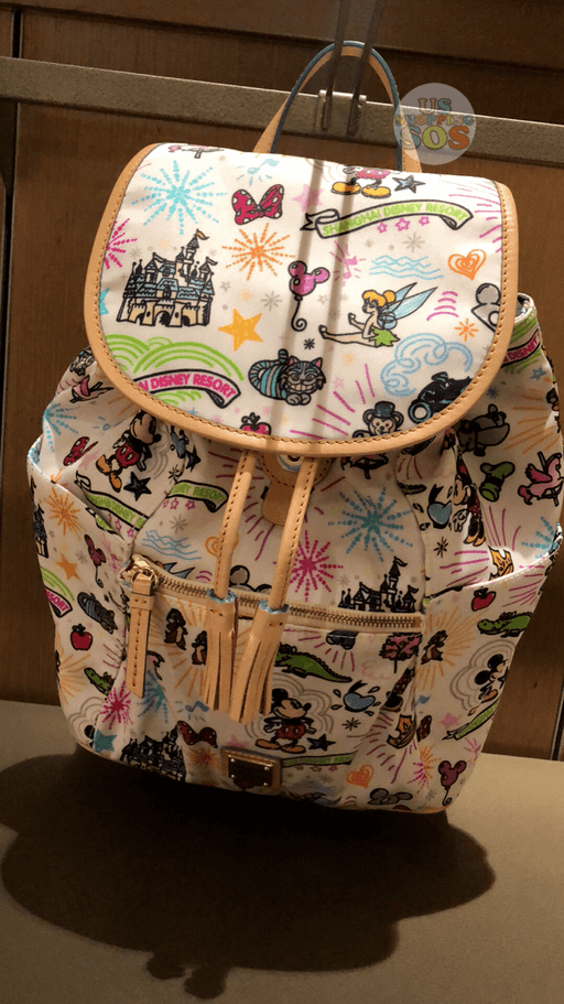 SHDL - Dooney and Bourke x All- Printed Collection - Backpack