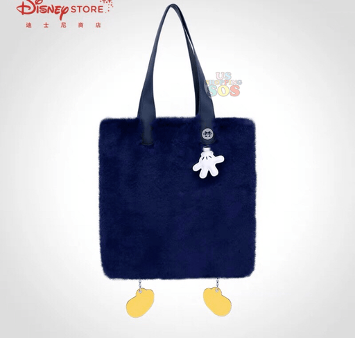 SHDS - Fluffy Mickey Mouse Hands   Foot Totebag (Pre-Order) 4689810d9101e