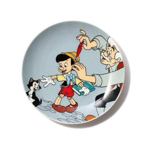 "Japan Francfranc - ""Pinocchio"" Collection - Round mini plate (Color: Blue)"
