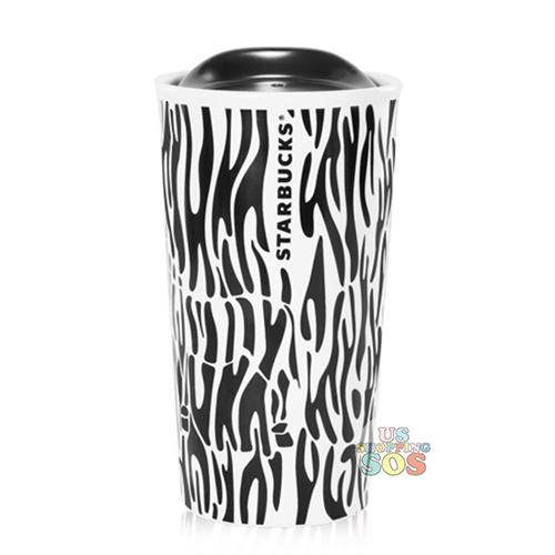 Starbucks China - Wild Black & White - Zebra Double Wall Tumbler 355ml