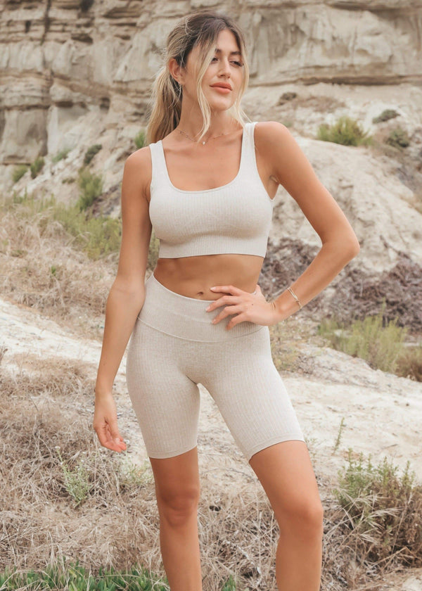 Harlow Crop Leggings + Top Set