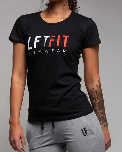 Distressed LFTFIT Tee - Black