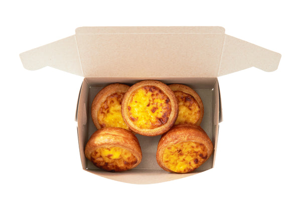 Our Famous Portuguese Egg Tart