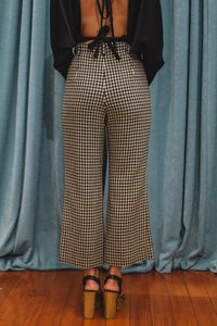 Mia flared check pant