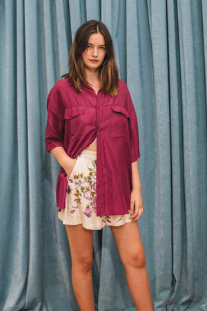 Brooklyn silk shirt