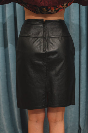 ????Leather Skirt