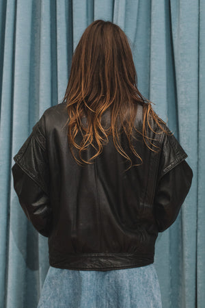 Lucette leather jacket