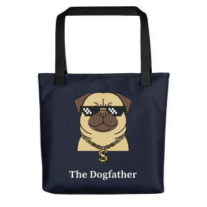 Dog Lover - The Dogfather Tote Bag