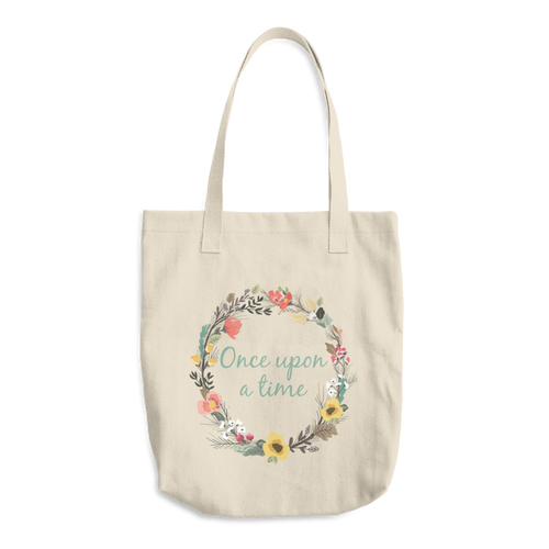 One Upon A Time Cotton Tote Bag