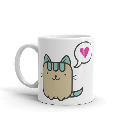 Cat Lover - Meow Means I Love You Mug