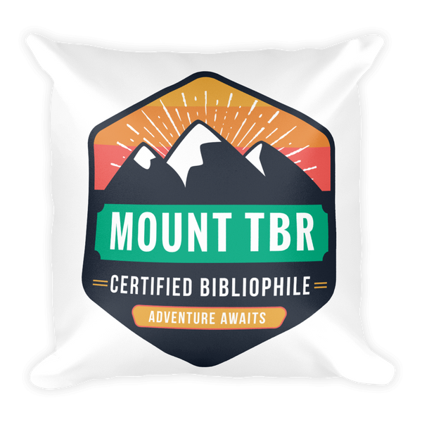 Mount TBR Square Pillow