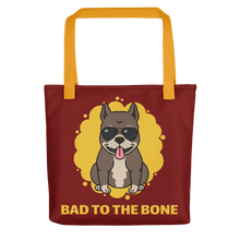 Dog Lover - Bad To The Bone Tote Bag