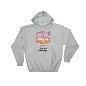 Cat Lover - I Can Haz Cheeseburger? Hoodie