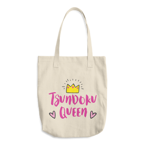 Tsundoku Queen Cotton Tote Bag