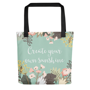 Create Your Own Sunshine Tote Bag