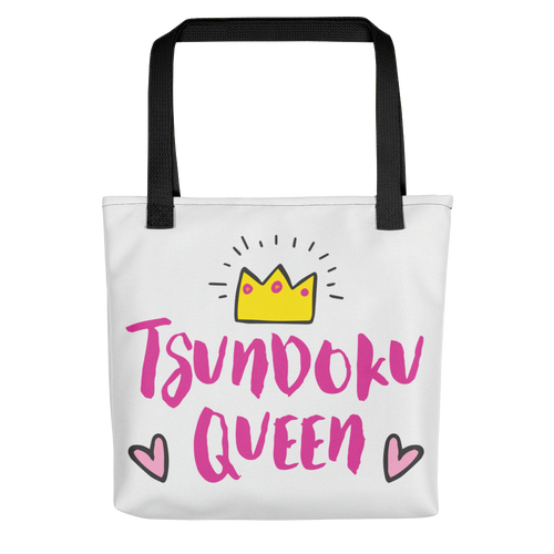 Tsundoku Queen Tote Bag