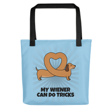 Dog Lover - My Wiener Can Do Tricks Tote Bag