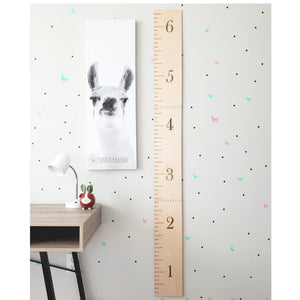 wooden growth chart rulers, farmhouse decor, wooden height rulers, nursery decor, baby shower gifts, housewarming gift,
