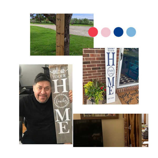 Little Prairie Craft Co is at week turnaround (7 days) for vinyl decals and 1.5 to 2 week turnaround for Porch Signs/Growth Charts. If you need a order sooner, please contact us as we can rush your order ($)