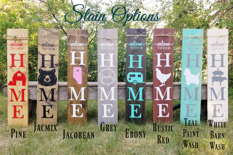 stain options for little prairie craft co in edm alberta