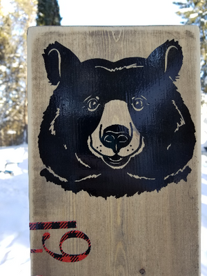 Bear Growth Chart - Little Prairie Craft Co.