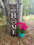 Modern Country Decor Porch Sign. Handmade in Edmonton, AB.