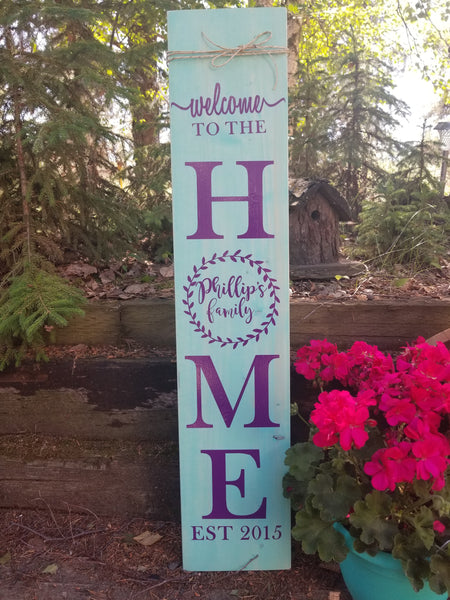 DIY Porch Sign Decal - Little Prairie Craft Co.