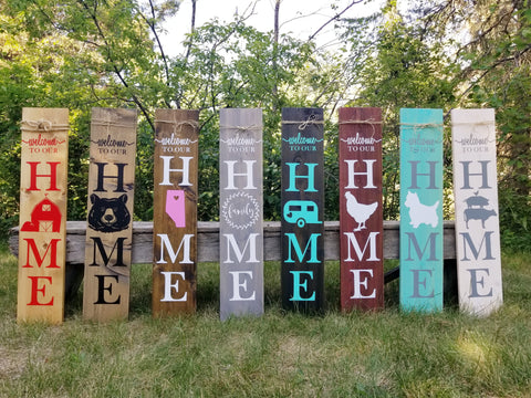 DIY Porch Sign Decal