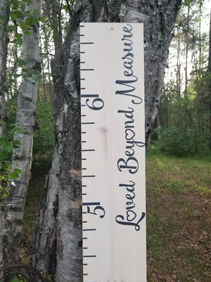 Loved Beyond Measure Growth Chart - Little Prairie Craft Co.