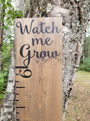 Watch Us/Me Grow Top Chart - Little Prairie Craft Co.