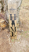 Dog Porch Sign ( Any Breed You Want) - Little Prairie Craft Co.