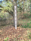 Extreme Writing Wooden Growth Chart - Little Prairie Craft Co.