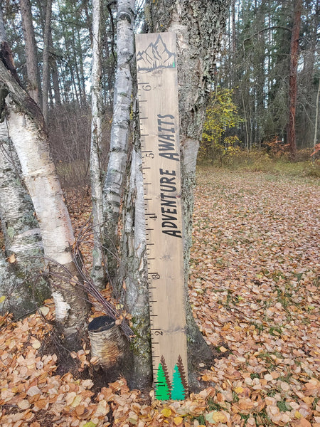 Adventure Awaits! Growth Chart - Little Prairie Craft Co.