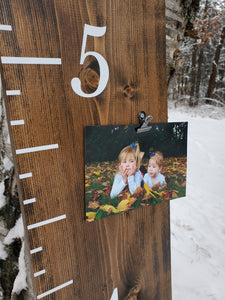 Photo Clips Growth Chart - Little Prairie Craft Co.