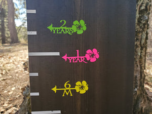 Hibiscus Height Marking Arrows - Little Prairie Craft Co.