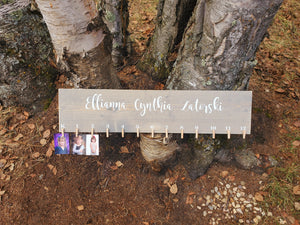 DIY Personalized School Picture Sign Decal - Little Prairie Craft Co.