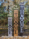 Family Laurel Home Porch Sign - Little Prairie Craft Co.