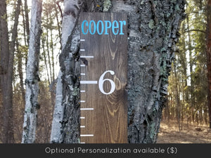 Classic Growth Chart - Little Prairie Craft Co.