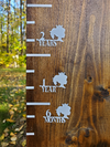 Girl Silhouette Height Marking Arrows - Little Prairie Craft Co.
