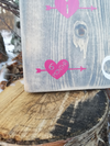 Heart Height Marking Arrows - Little Prairie Craft Co.