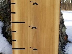Mini Moustache Height Marking Arrows - Little Prairie Craft Co.