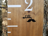 Moustache Height Marking Arrows - Little Prairie Craft Co.