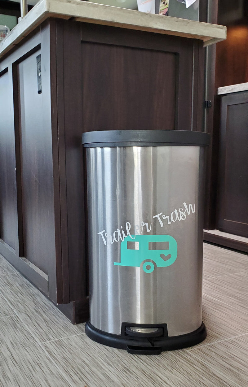 Trailer Trash Decal - Little Prairie Craft Co.